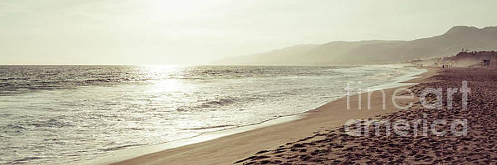 Paul Velgos - Malibu California Zuma Beach Sunset Panorama Photo