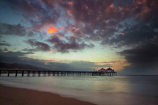 Malibu Pier III by John Rodrigues