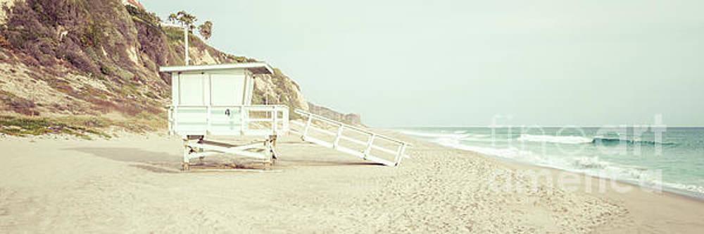 Paul Velgos - Malibu Zuma Beach Lifeguard Tower #4 Panorama Photo