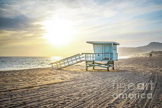 Paul Velgos - Malibu Zuma Beach Lifeguard Tower #4 Sunset