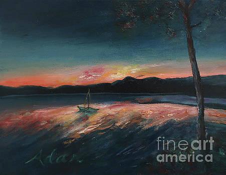 Felipe Adan Lerma - Malletts Bay Sunrise Colchester Vermont