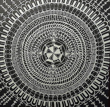 Mandala No. 3 by Barry W King