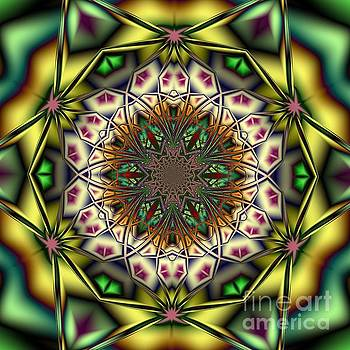 Mandala Q by Galina Lavrova
