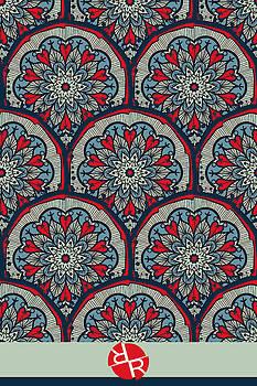 Mandala Seamless Pattern by Tony Rubino