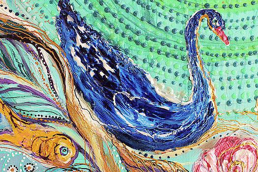 Mandala Series #1. Fragment #4 by Elena Kotliarker