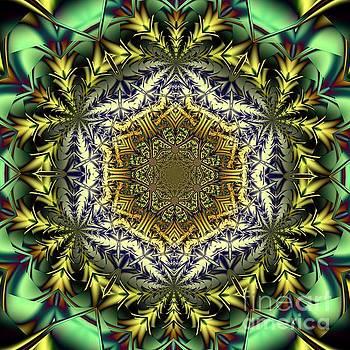 Mandala T by Galina Lavrova