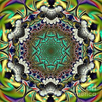 Mandala W by Galina Lavrova