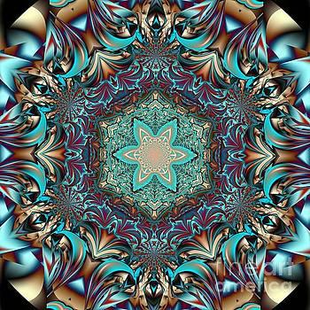 Mandala X by Galina Lavrova