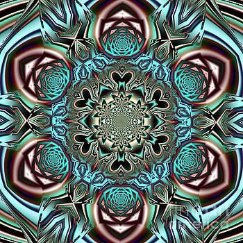 Mandala Y by Galina Lavrova