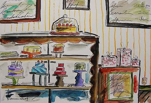 Mandarin Cake Shop by John Williams