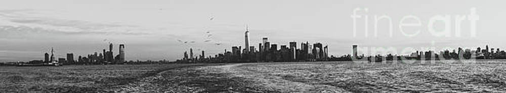 Manhatta, New Jersey and The Statue of Liberty by PorqueNo Studios