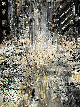 Manhattan Snow Storm by Debra Hurd
