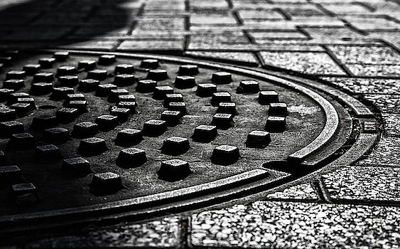 Manhole Cover by Fred Hood