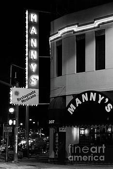 Mannys Restaurant Kansas City by Terri Morris