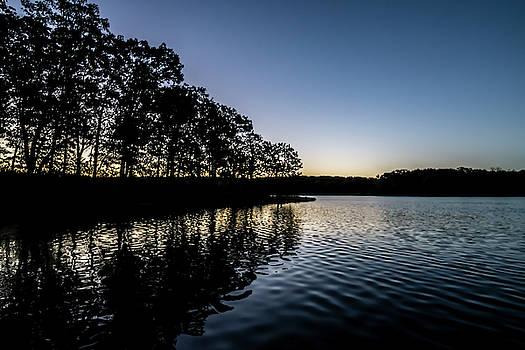 Maple Lake dawn  by Sven Brogren