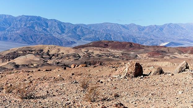 Marble Cake View Above Death Valley by Allan Van Gasbeck