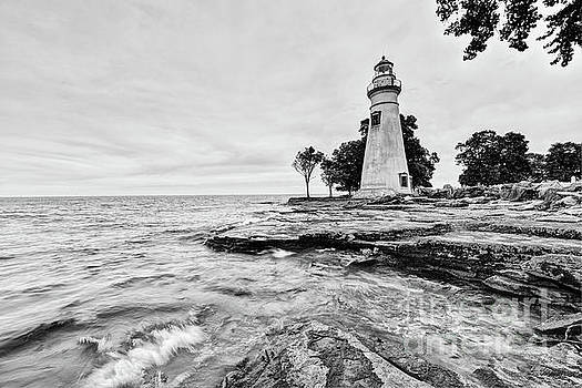 Marblehead Lighthouse, Lake Erie, Ohio, USA by Brian Mollenkopf