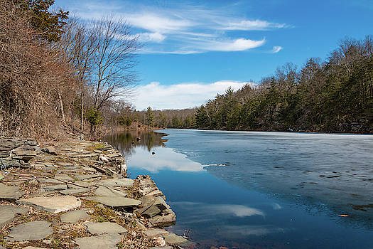 March Morning at Sanctuary Pond by Jeff Severson