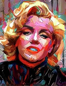 Marilyn by Paul Van Scott