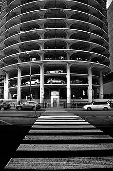 Marina City Towers Parking - Chicago by Daniel Hagerman