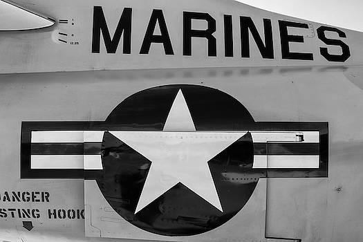 Marines Skyhawk by Chris Buff