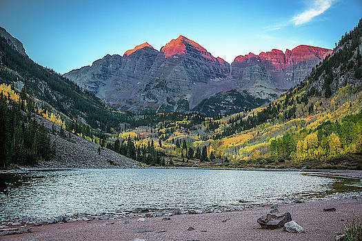 Maroon Bells Morning by Southern Plains Photography