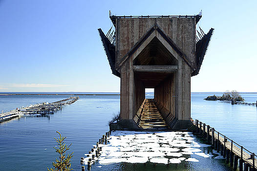 Marquette Ore Dock Cathedral by Tom Kelly