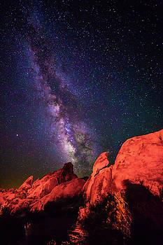 Mars and the Milky Way by Matt Deifer
