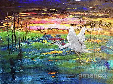 Sharon Williams Eng - Marsh Sunset