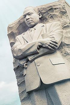 Martin Luther King Jr Memorial Washington DC by Joan Carroll