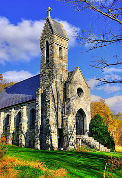 Maryland Country Roads - Dahlgren Chapel on South Mountain - Frederick County by Michael Mazaika