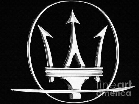 Maserati's Trident badge by Stefano Senise