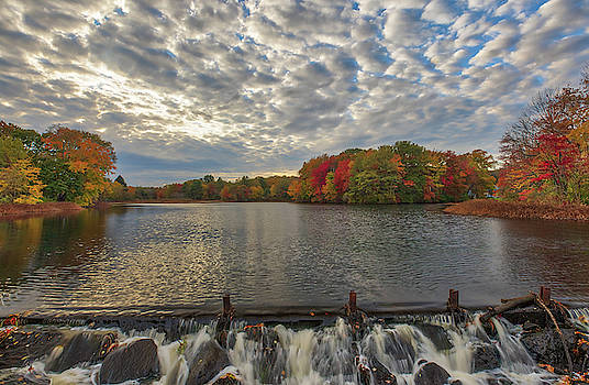 Massachusetts Fall Foliage at Mill Pond by Juergen Roth