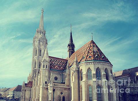Matthias church, Budapest by Jelena Jovanovic