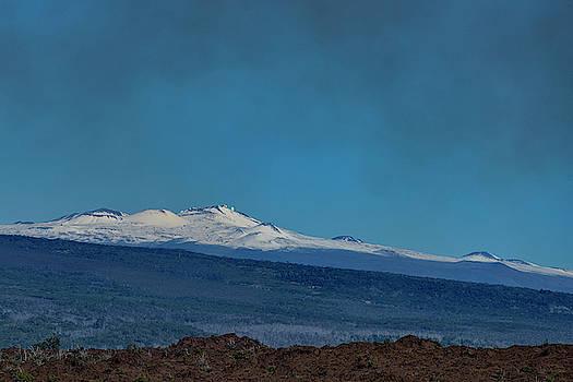 Don Mitchell - Mauna Kea from Kilauea