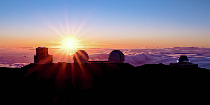 Mauna Kea Sunset 2x1 by William Dickman