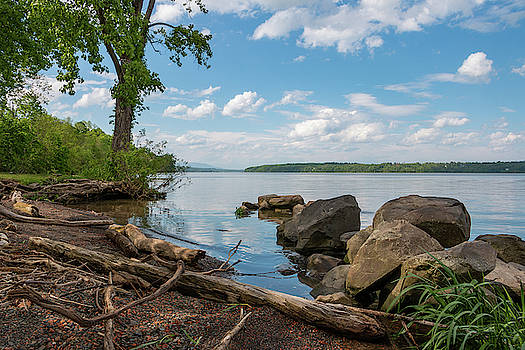 May Afternoon on the Hudson by Jeff Severson