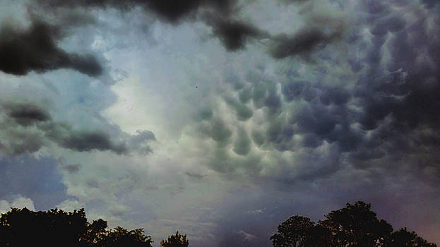 May Mammatus  by Ally White