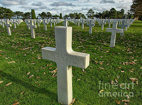 Wayne Moran - May They Rest In Peace American Cemetery and Memorial Omaha Beach Normandy France