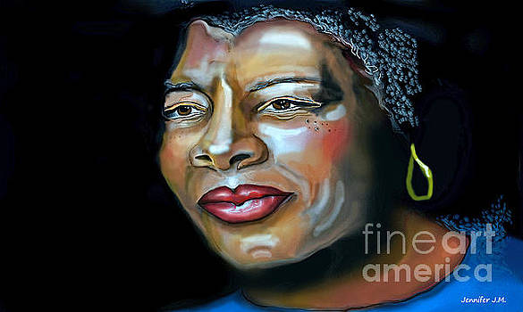 Maya Angelou The Caged Bird Sings by Jennifer Miller