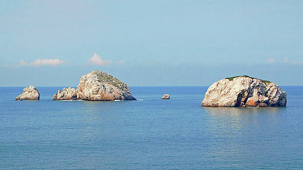 Mazatlan Mexico Rock Formations by Emmy Marie Vickers