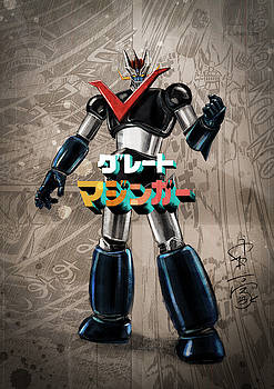 Mazinger Tribute by Andrea Gatti