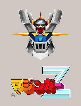 Andrea Gatti - Mazinger Z Head Logo