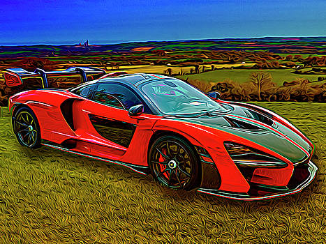 McLaren P1 by Paul Wear