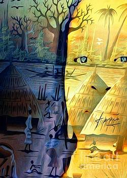 Me in Senegal by Fania Simon