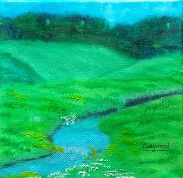 Meadow Beauty by George Dalton