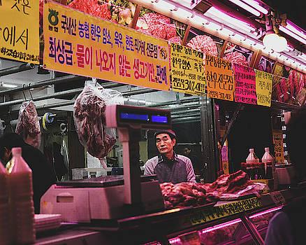 Meat Man, South Korea by Sabrina Pinksen