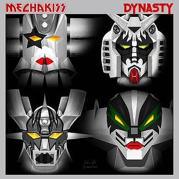 Andrea Gatti - Mecha Kiss Dynasty