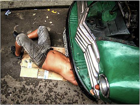 Kako Escalona - Mechanic. Havana, Cuba