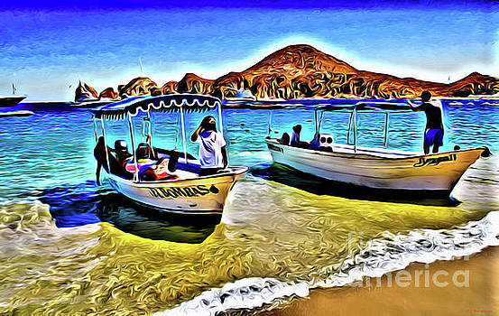 Medano Beach Cabo san Lucas Mexico by Jerome Stumphauzer